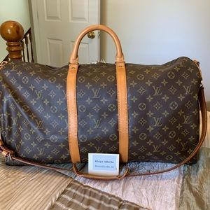 Authentic Louis Vuitton Keepall Bandolier 55